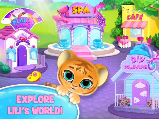 Baby Tiger Care - My Cute Virtual Pet Friend apkpoly screenshots 11