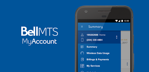 View and manage your Bell MTS services through MyAccount.