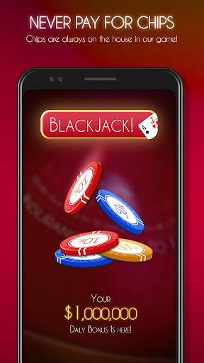 Blackjack! u2660ufe0f Free Black Jack Casino Card Game 1.7.0 screenshots 2