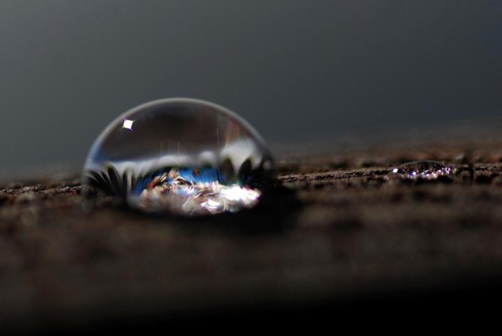 La sfera di cristallo.. di Astrid Tomada