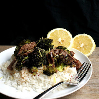 Spicy Lemon-Ginger Beef and Broccoli