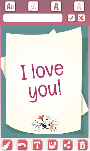 Love cards - Photo frames for PC