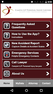 Ontario Accident App- screenshot thumbnail