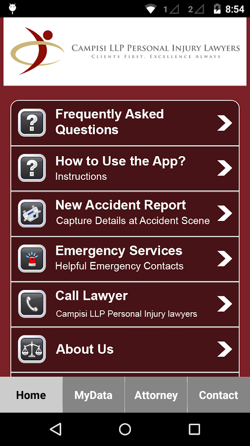 Ontario Accident App- screenshot