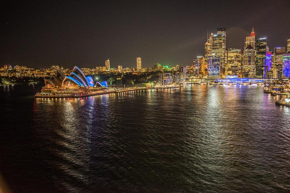 Sydney Australia  Copyright: Pixabay / author: pattyjansen / I License: CC0 Public Domain