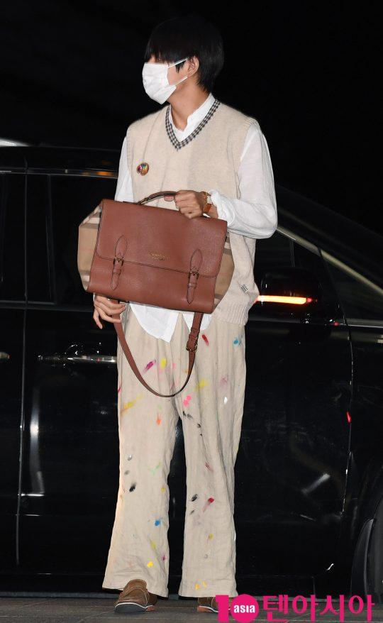 bts v colorful pants 5