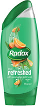 Radox Nature Inspired Feel Refreshed Shower Gel - Eucalyptus and Citrus Oil, 250ml