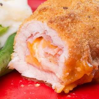 Chicken Ham And Cheese Roll-Ups.