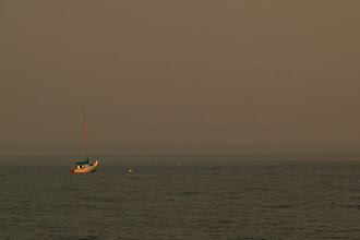 Photo: Hazy Shade of Evening  Shot some Christmas lights and a couple of still life images, but opted to return to summer. Lincolnville Harbor, ME - June 2003  #365Project