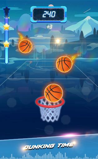 Beat Dunk - Free Basketball with Pop Music 1.2.1 screenshots 2