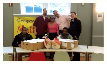 Photo: This will certainly be a happy Thanksgiving for some special families in Yonkers.