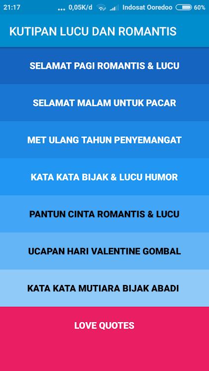 Kata Kata Mutiara Bijak Lucu Dan Romantis Android تطبيقات Appagg
