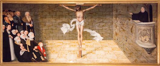 """Photo: In Sachsen-Anhalt gibt es eine Weltpremiere: Die Landesausstellung """"Cranach der Jüngere 2015"""" ist weltweit die erste Ausstellung, die dem Leben und Werk von Lucas Cranach dem Jüngeren gewidmet ist."""