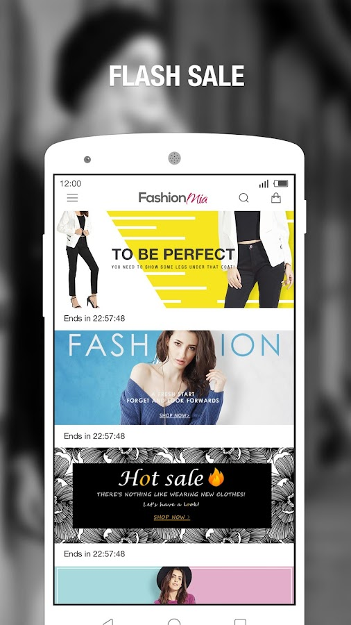 FashionMia-Women Fashion Store- screenshot