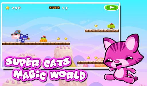 Super Cats Magic World