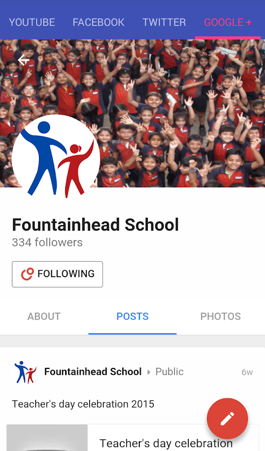 Fountainhead School- screenshot
