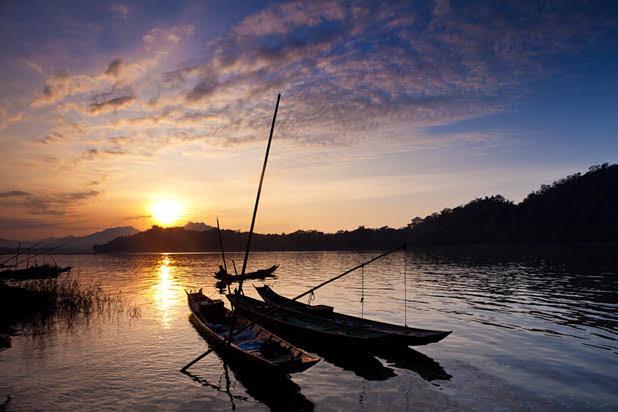 Balade en bateau à Luang Prabang