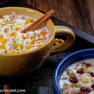Healthy Orange Blossom Cinnamon Dessert Drink