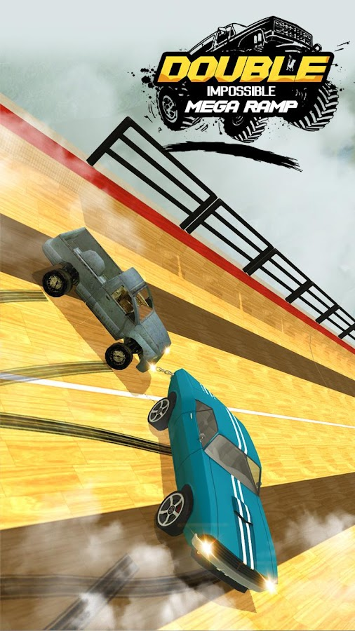 Double Impossible Mega Ramp 3D APK Cracked Free Download