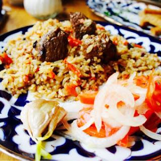 Uzbek Lamb Plov