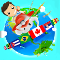 Geography Quiz Game 3D icon