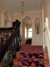 Photo: March 2007: Looking up the stairs to the second floor landing and the new stair to the third floor. Remember what it used to look like?