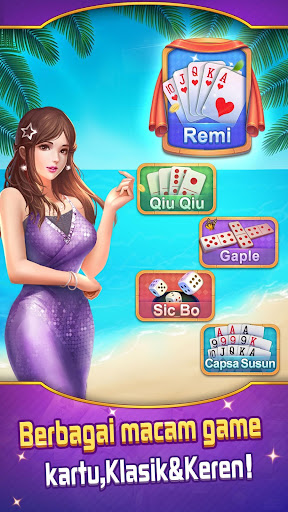 Remi Online - Dan Capsa Susun Gaple Mod Apk Unlimited ...