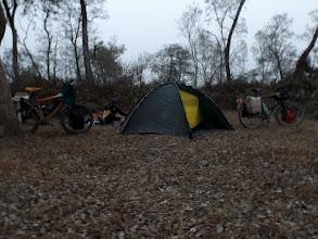 Photo: Wildcamp in unserer 1. Nacht in Nepal - das lässt sich gut an :-)