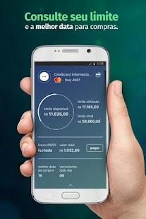 Credicard Controle seu cartão - náhled