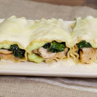 Lasagna Rollups.