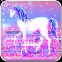 Starry Sky Unicorn Keyboard APK