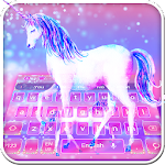 Starry Sky Unicorn Keyboard