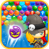 Bubble Shooter Witch Rescue