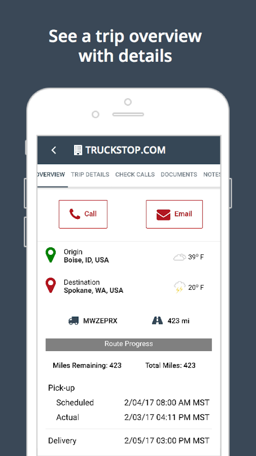 Truckstop Mobile- screenshot