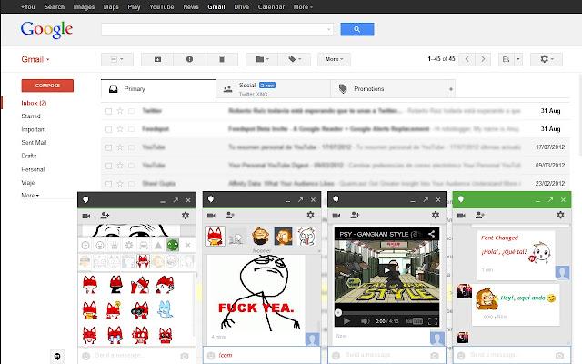 Custom Hangout Emoticons