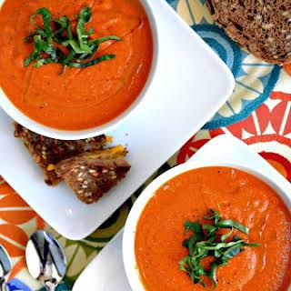 Dreamy Vegan Tomato Soup.