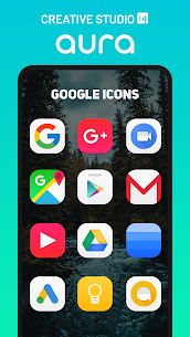 Aura Icon Pack – Rounded Square Icons Patched APK 3
