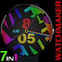 WATCH FACE CASUAL BIG COLORS icon