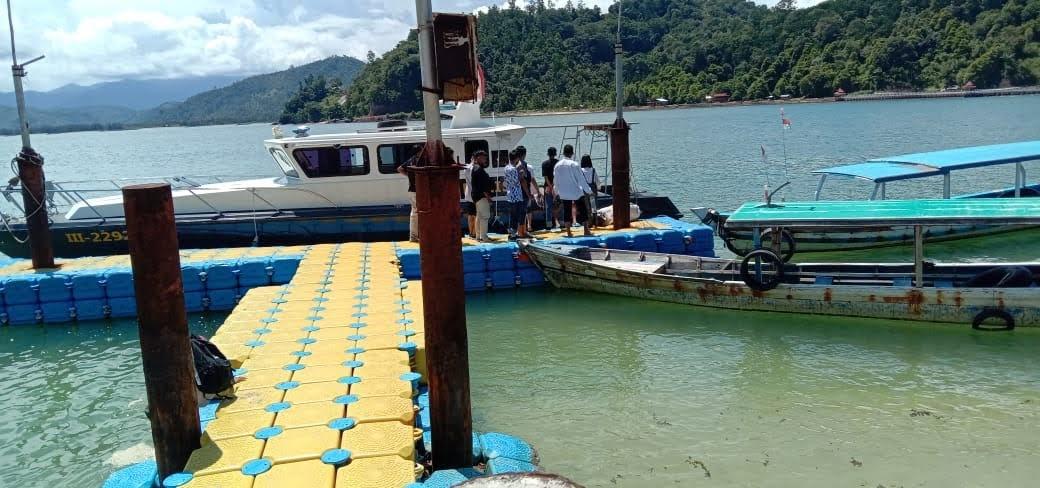 Pol Airud Polres Pessel, Pengunjung ke Pulau Cingkuak Wajib Ikuti Prokes