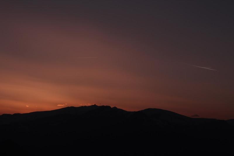 tramonto mezzo pieno di floreeeeeeeeee