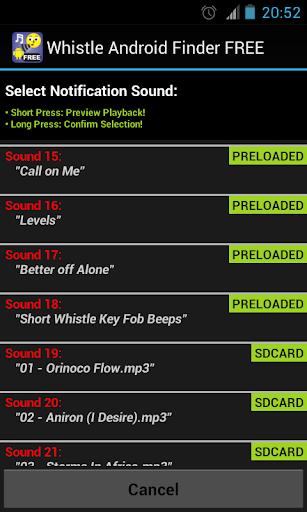 Whistle Phone Locator screenshot 4