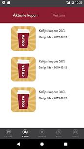 Costa Coffee Club Latvia 2