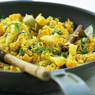 Lentil And Cauliflower Pilaf (low-fat).