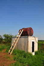 Photo: Le château d'eau pour la plantation