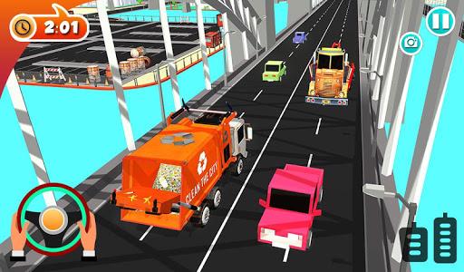Urban Garbage Truck Driving - Waste Transporter 1 screenshots 17