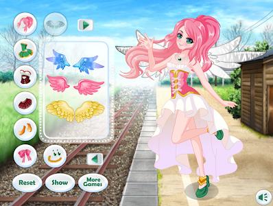 Descargar ángel Chica Anime De Vestir Juegos De Chicas Apk