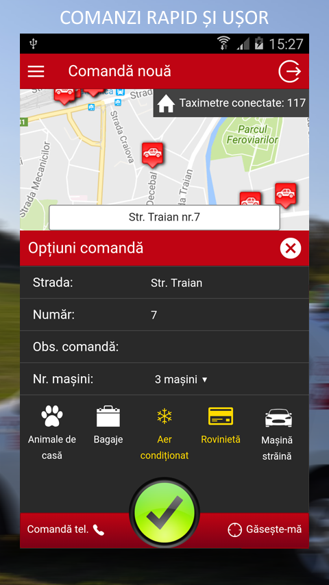 Daniel Taxi Cluj- screenshot