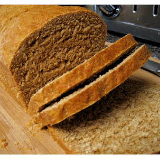 Molasses Whole Wheat Bread.