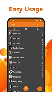 Simple Contacts – Manage & access contacts easily Mod 6.12.4 Apk [Unlocked] 1