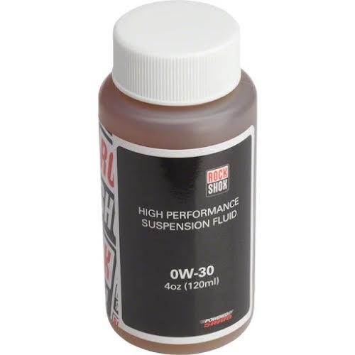 RockShox Suspension Oil, 0W-30, 120ml Bottle (Pike Lowers)
